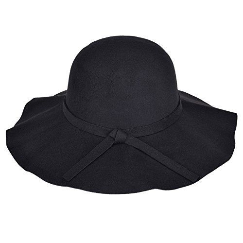 Information: GREAT HAT FOR THIS SEASON! This woolen hat selling in our store is very nicely shaped, and its wide brim protects you from the sun in Fall or Winter while looking fashionable. If you love to wear wide brimmed hats, this one will be you stylish choice. Gorgeous color and beautiful...