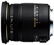 Sigma - 17-50mm f/2.8 EX DC HSM Zoom Lens for Select Canon Dslr Cameras - Black