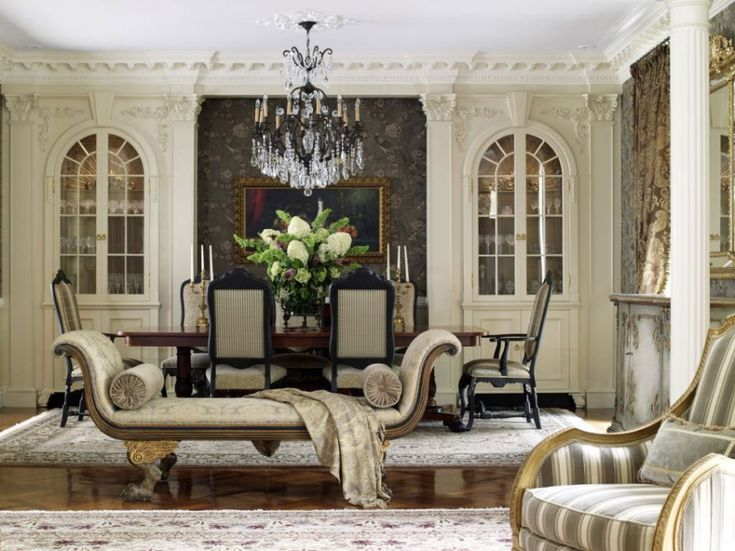 Home Interior, Italian Interior Design: The Way to Have A Stunning Home: Classic Italian Interior Design For Dining Room