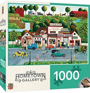 MasterPieces Hometown Gallery The Old Filling Station Puzzle (1000 Piece)