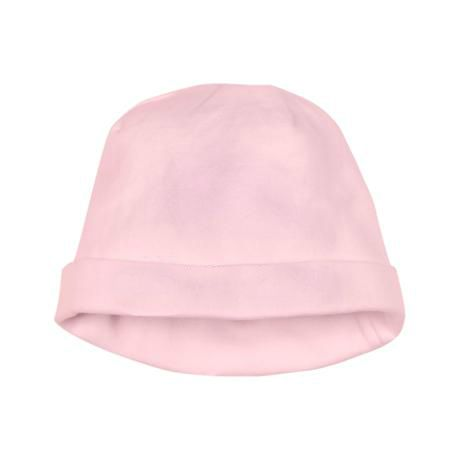bac01431 - Cotton jersey baby hat in pink by Soft Touch