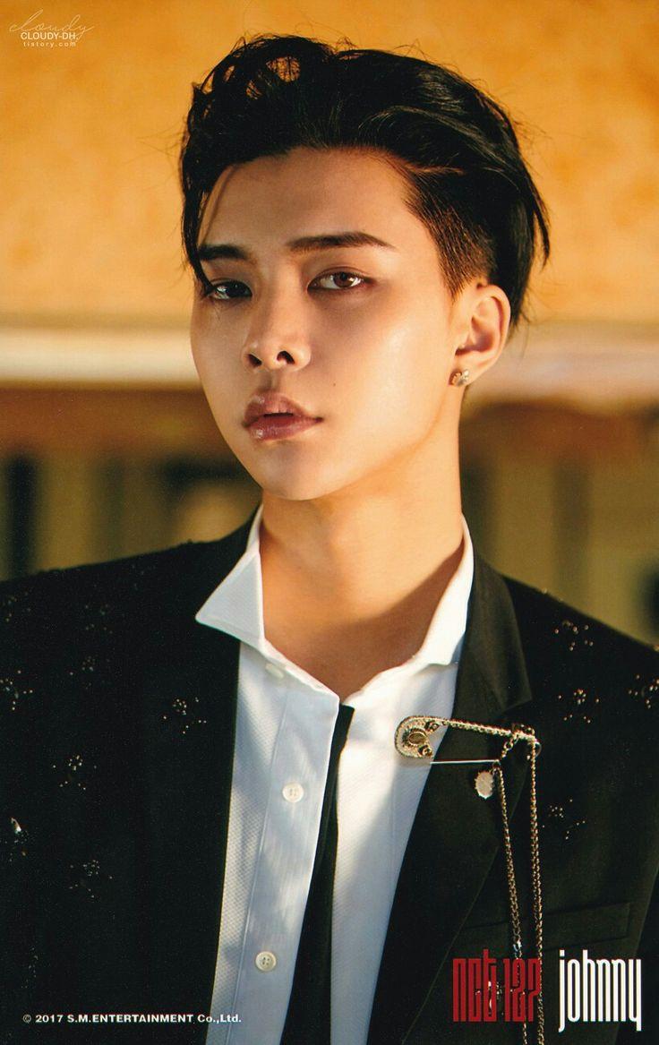 NCT 127  Johnny [ 서영호 ] ㅡ CHERRY BOMB Photoset ⓑ version scan by. 흐린