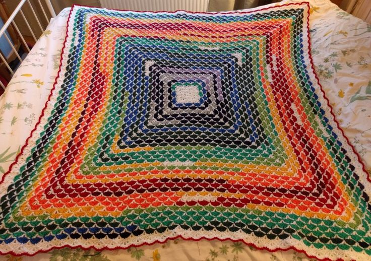 Crochet Patterns For Temperature Blanket : temperaturfil temperature blanket afghan temperatur filt ...