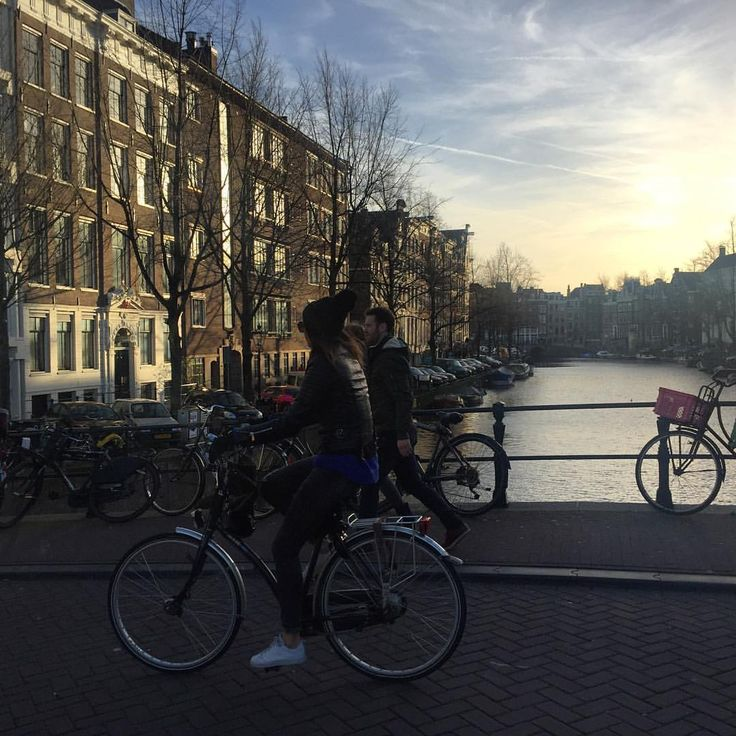 I enjoy every moment as I enjoy every picture. — People on their bikes.    #beautiful #nice #bike...