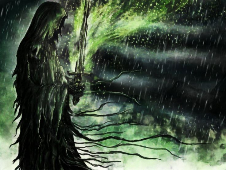 Light of Nine by EpicLoop.deviantart.com on @DeviantArt Nazgul - Lord of the Rings by Peter Jackson #fantasy #dark