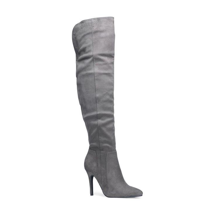 wehkamp: leuke grijze laarzen