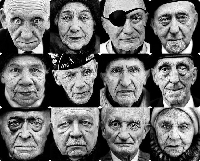 Alla vigilia del Giorno della Vittoria, ritratti e ricordi dei partecipanti superstiti della seconda guerra mondiale.