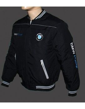 BMW Black Jacket with embroidered logos from http://autofanstore.com