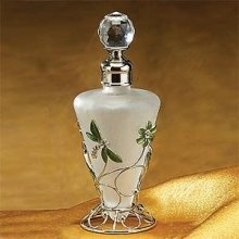 Stealstreet Green Dragonfly Perfume Bottle Scented Fragrance Container Decoration