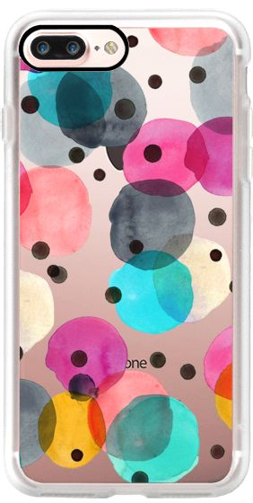 Casetify iPhone 7 Plus Case and other New Years Eve iPhone Covers - Festive Dots by Crystal Walene | Casetify