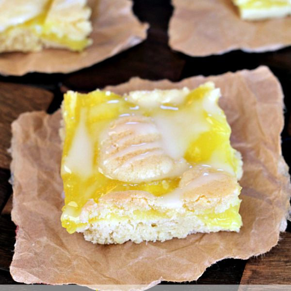 Lemon Pie Bars | Recipe