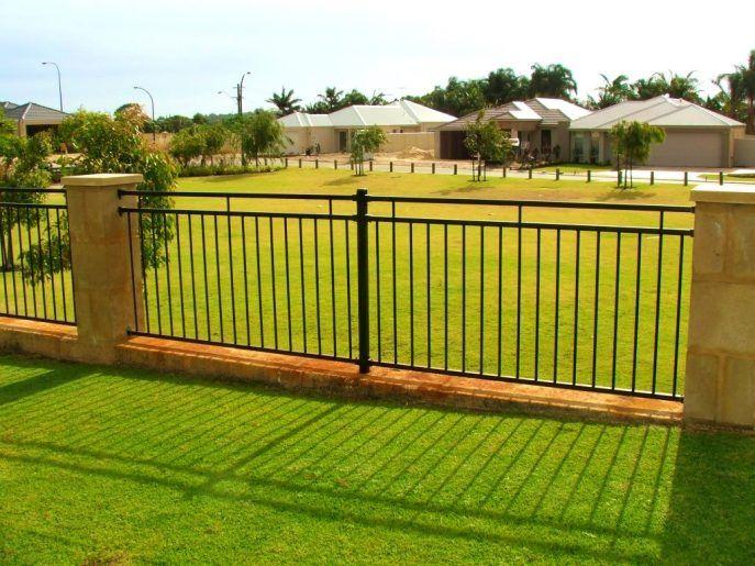 Bedroom : Delightful Aluminum Fence Lowes Home Improvement Fencing ...
