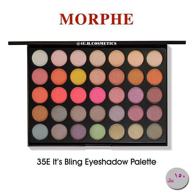 New The 10 Best Eye Makeup Ideas Today With Pictures باليت ظلال العيون من مورفي تحتوي على خمسة وثلاثين درجة لونية Eyeshadow Eyeshadow Palette Makeup