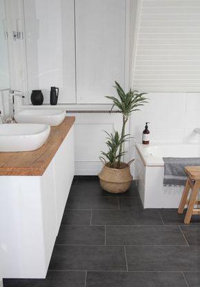 Die besten 25+ Badezimmer ohne fliesen Ideen auf Pinterest