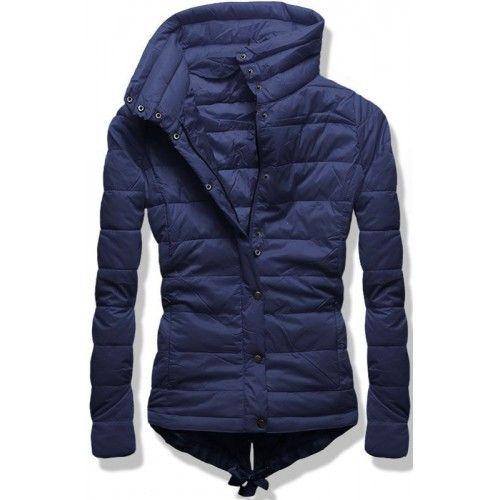 Dámská jarní podzimní bunda Sario modrá – modrá Prošívaná jarní či podzimní  bunda Sario se zapíná na knoflíky. Bunda …  4a0bbbcb54