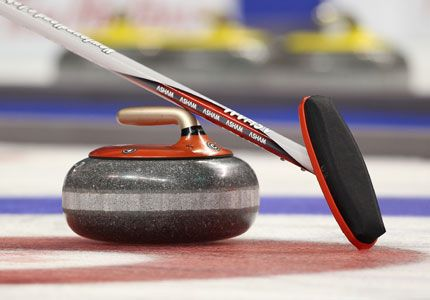 Team Canada Curling - I'm obsessed, or have been ever since I heard that it's a great excuse to go to the rink and drink beer.