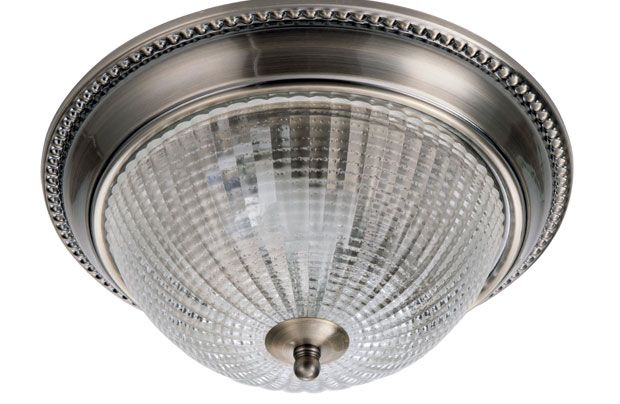 Florida Flush Light - Antique Brass - 26cm 4.5 out of 5  4.5 out of 5 from 6 customer reviews Collect 60 Nectar points with this purchase+ £29.99