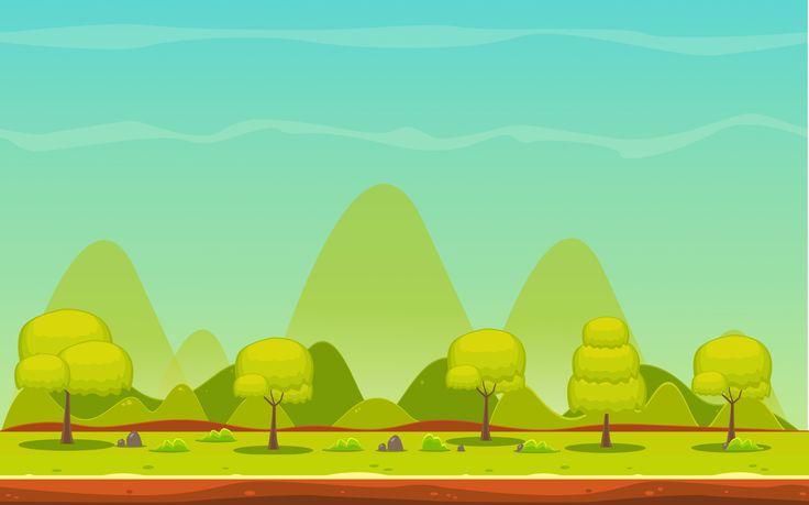 Chicken Clash Background : Green Island