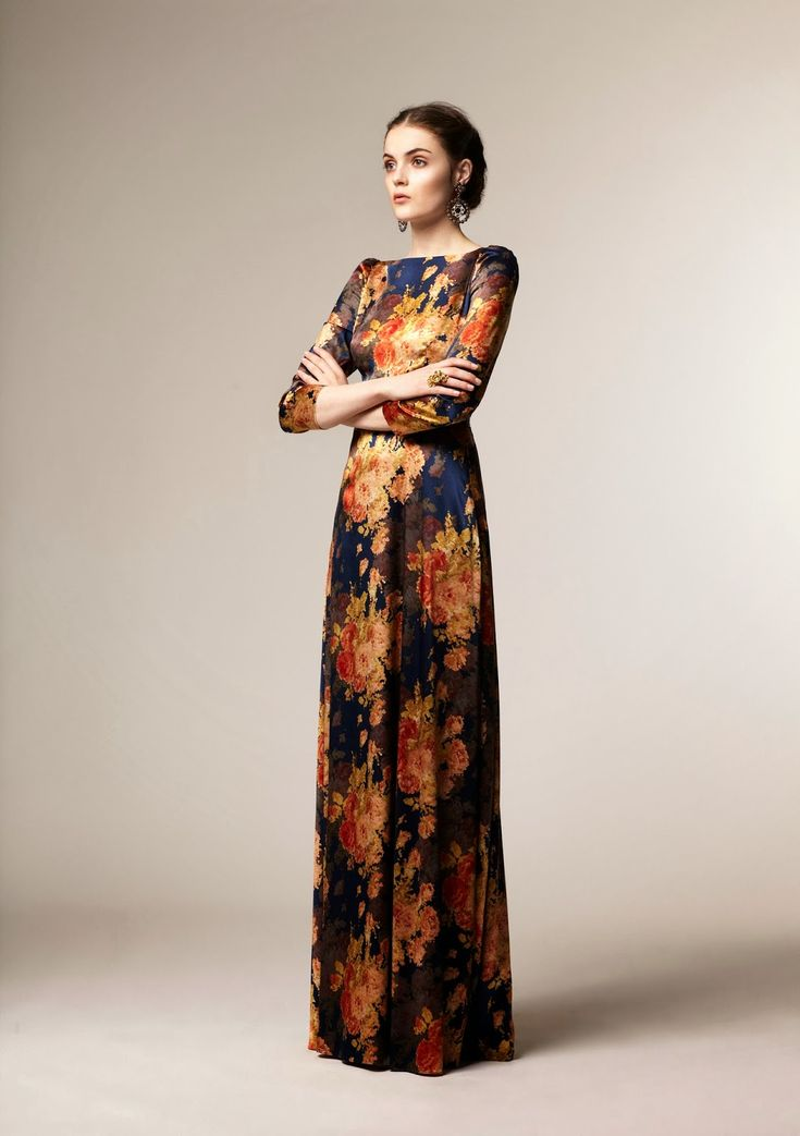 Beautiful modest A La Russe fashion winter 2013 collection. Although this is from 2013, it is still gorgeous!