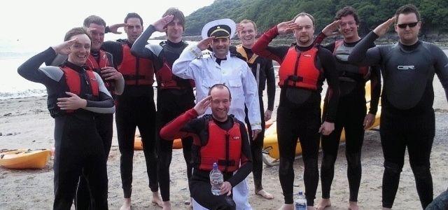 Rafting, sensations fortes... Pas de doute, nous sommes dans la région de l'Algarve au Portugal.