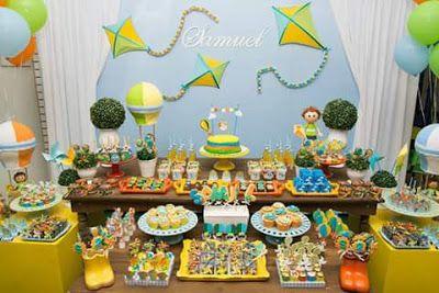 Mimos de Papel by Gra: Festa Pipas, Cataventos e Balões