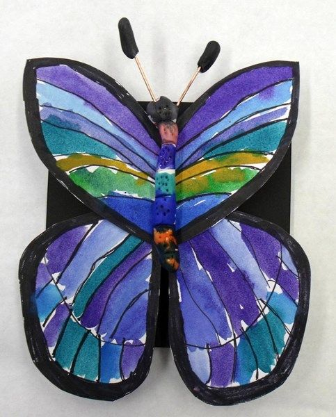 how to make a butterfly craft project