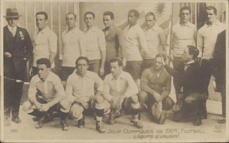1924 SPORTS JEUX OLYMPIQUES DE 1924 FOOTBALL URUGUAY