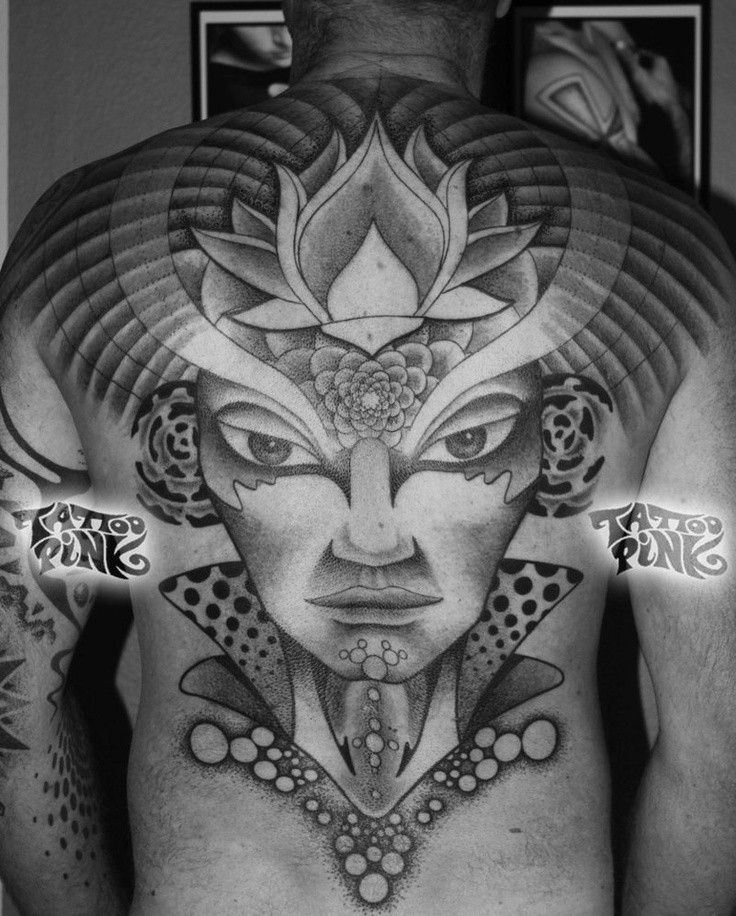 ✯ Ronny's Backpiece, Pink Design .. By ~Tattoopink✯