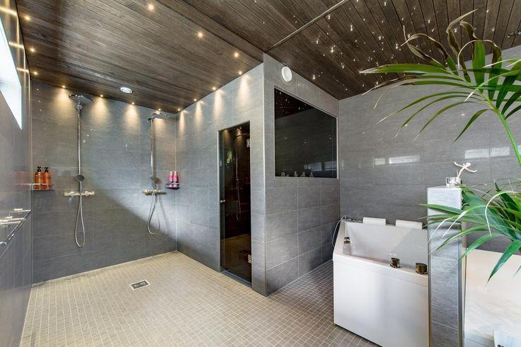 Moderni ja tyylikäs kylpyhuoneosasto - Etuovi.com Ideat & vinkit