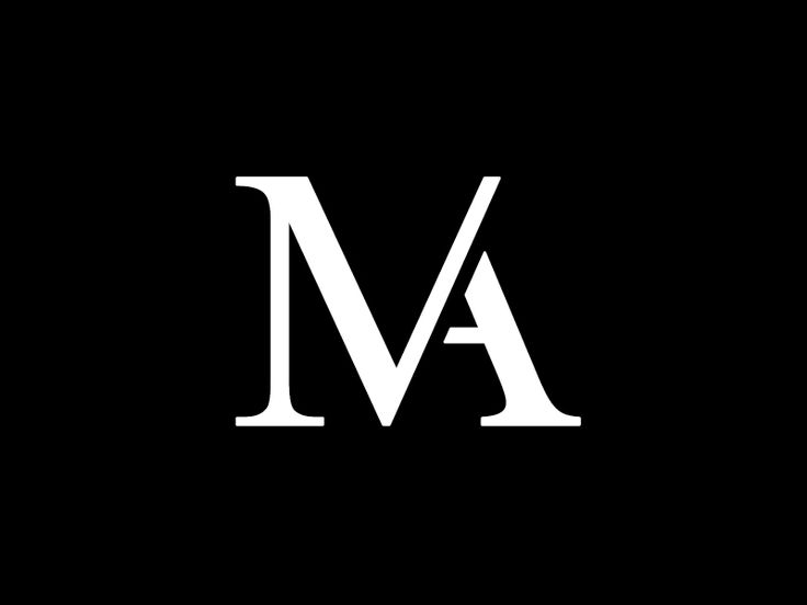 MA Monogram  by Russell Beaver