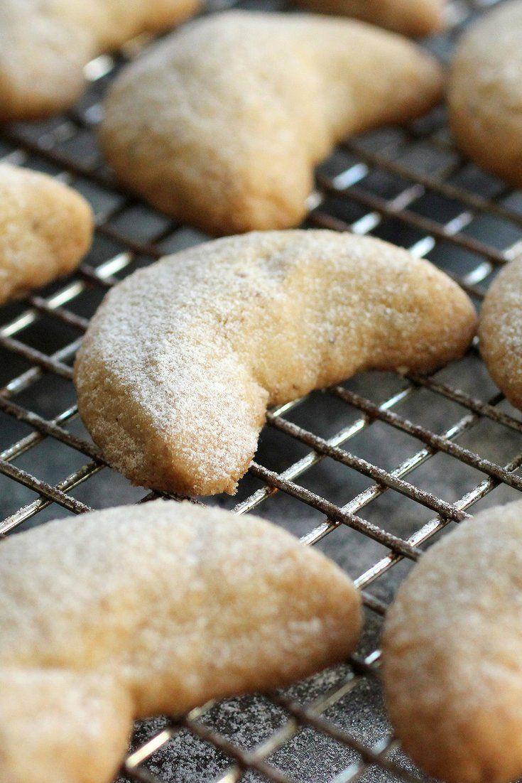 Cardamom-Walnut Crescents | Recipe | Crescents, Christmas ...