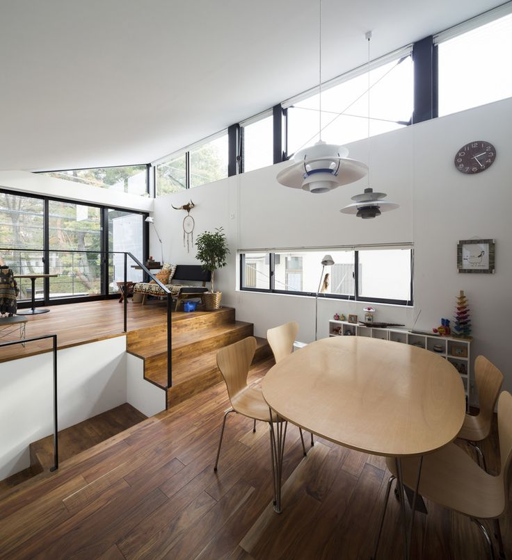 Modern holz japan architektur innearchitektur design modern