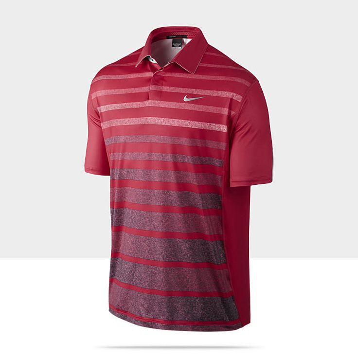 TW Stripe Men's Golf Polo