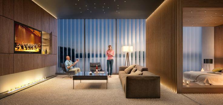 Piękne wnętrze hotelu pasywnego. Źródło zdjęcia: http://domy.procyon.com.pl/images/pic/103/2945/Hotel%20pasywny_Kronospan_w3_big.jpg