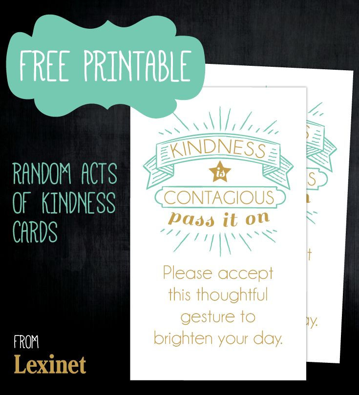 40th Birthday Random Acts Of Kindness: 26 Best Thank You Cards For Kids To Make Images On
