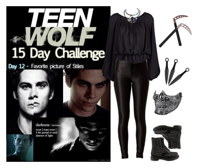 """Teen Wolf Challenge: (12) Favorite picture of Scott"" by vampirliebling ❤ liked on Polyvore"