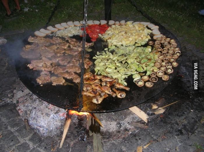 Heard you guys like barbecue. This is how we do it in Romania