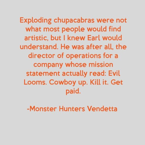 Monster Hunters Vendetta, (monster hunters international book 2) by Larry Correia
