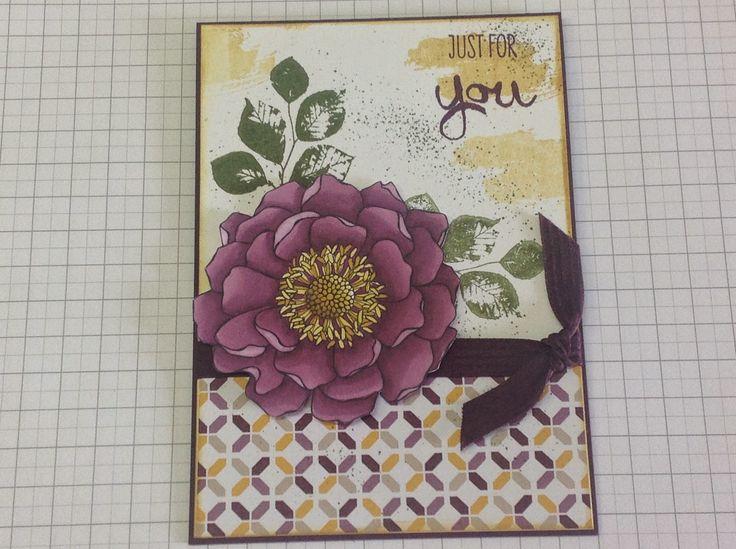 Sharyn's Inspirational Cards: Blended Bloom