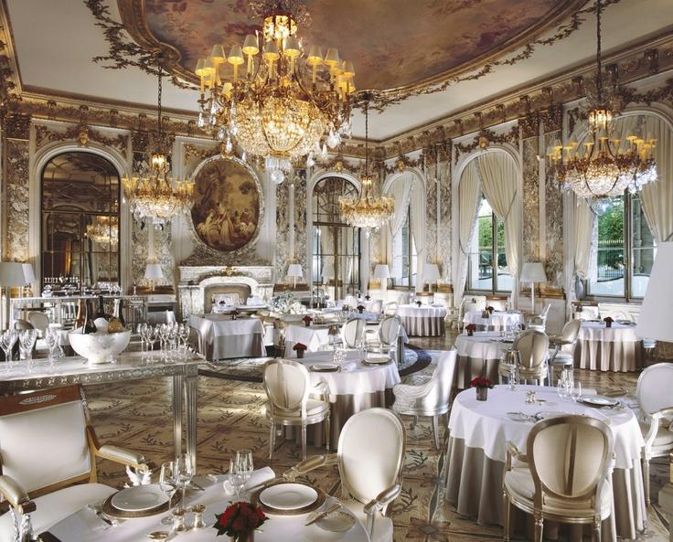 Hotels With Star 3 Star Restaurant Le Meurice (Hotel Le Meurice, Paris)