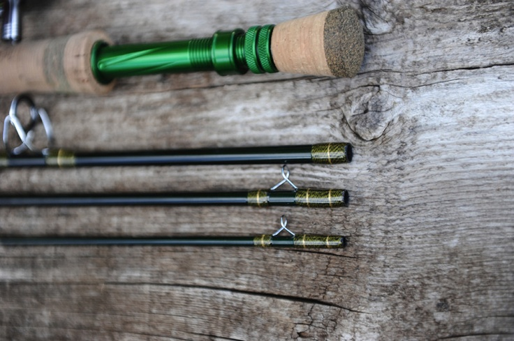 17 best images about handcrafted flyfishing gear on for Halo fishing rods