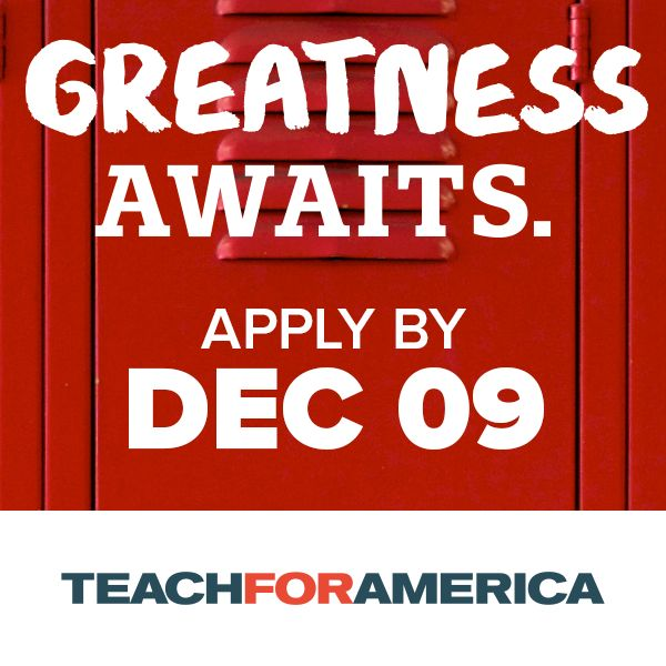 Apply to Teach For America