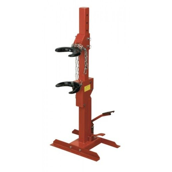 1500kg Foot operated hydraulic unit. Quicker and easier than using ratchet driven spring compressor. Plastic coated yokes reduce the risk of spring slippage or damage and are suitable for springs from ø102mm to ø160mm. To get more information:-http://www.germancarparts4less.com/sealey-re231-coil-spring-compressing-station-hydraulic-1500kg-capacity.html