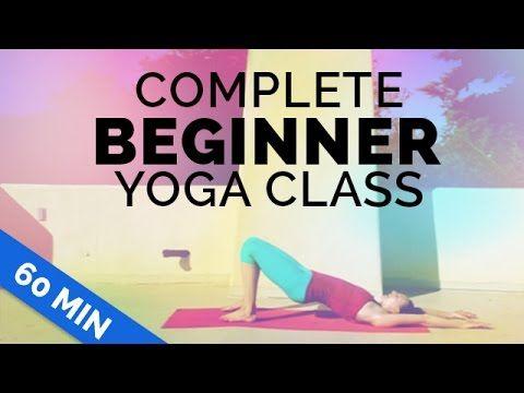 Beginner Yoga: Complete Beginner 60-min Yoga Class - Start Yoga w/ Me