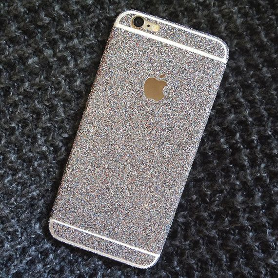 Glitter iPhone Skin / Sparkle iPhone Case / by SimplySierraStudio