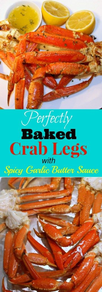Whether its Valentine's Day or you are just craving seafood, these Perfectly Baked Crab Legs with Spicy Garlic Butter Sauce will hit the spot. This is the best crab leg recipe you will find and will never steam another crab again once you taste a baked crab leg.