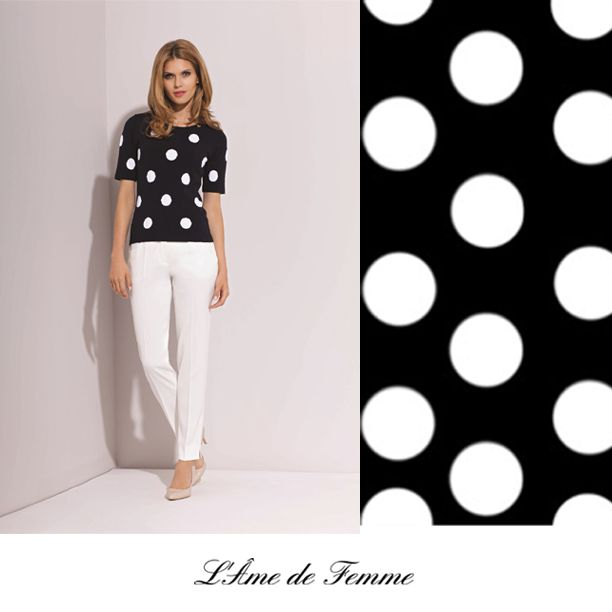 there is a sports style t-shirt and simple white trousers from our brand