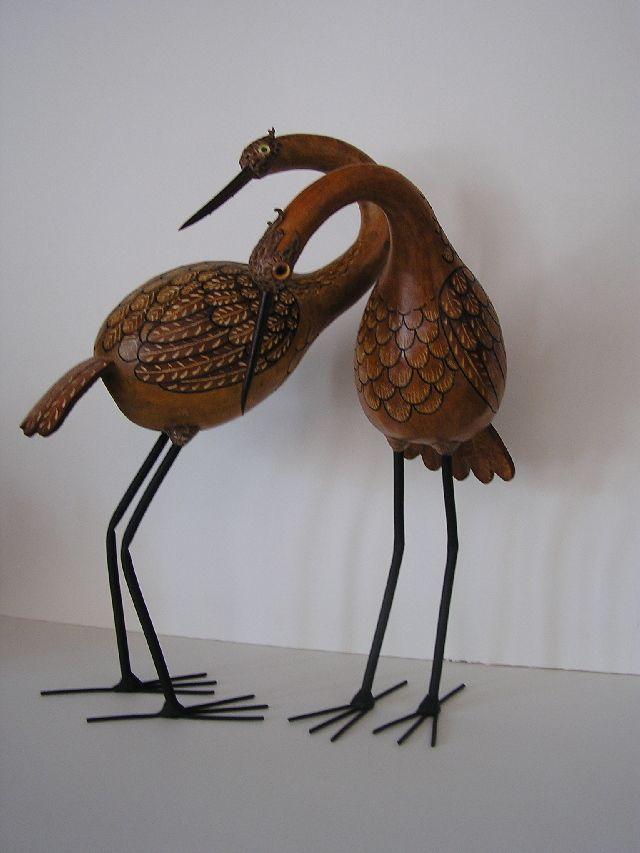 bird gourd art