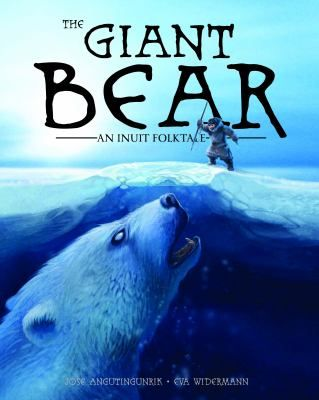 One of the most terrifying creatures to be found in traditional Inuit stories is the nanurluk, a massive bear the size of an icebert that lives under the sea ice. Its monstrous size and ice-covered fur make it an almost impenetrable foe. But when a lone hunter spots the breathing hole of a nanurluk on the sea ice near his iglu, he uses his quick thinking and excellent hunting skills to hatch a plan to outsmart the deadly bear. Gr.2-6