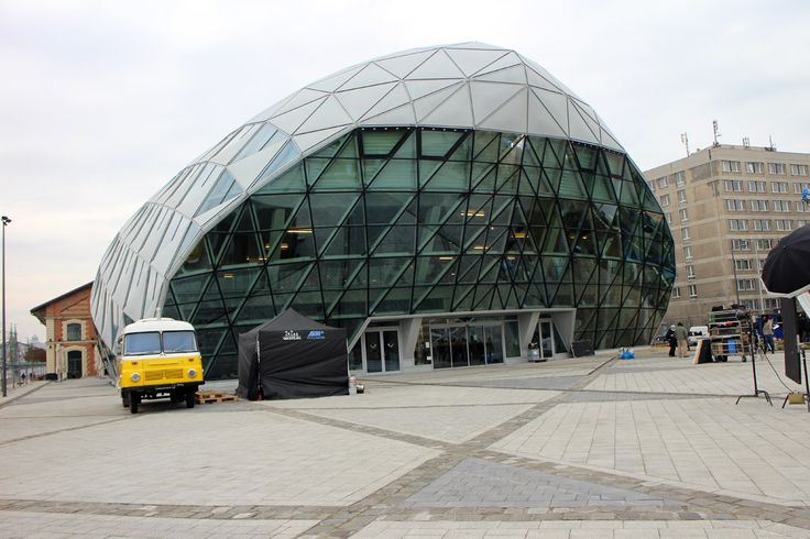 The Bálna/Whale building- cultural and shopping centre.